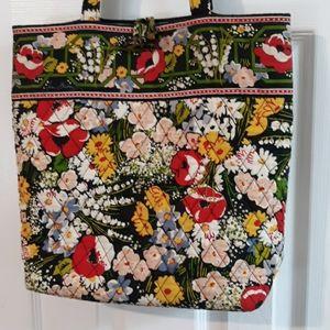 Vera Bradley Retired Pattern Poppy Fields Bag
